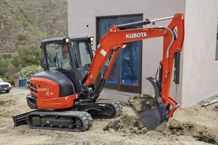 Kubota Lift Cover : Tips of the trade utility contractor magazine