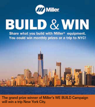 Miller Announces Its WE BUILD Campaign