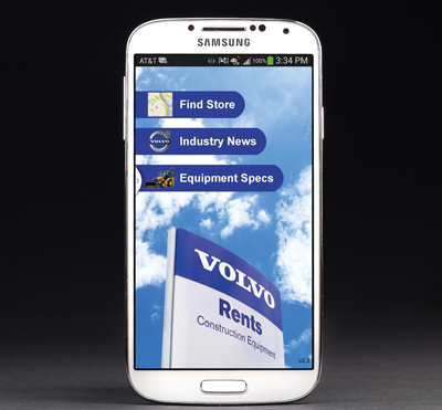 Volvo Rents Introduces Consumer App on Android Phones