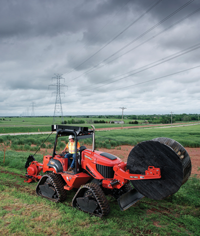 Ditch Witch RT120 Quad and RT120 Ride-On Tractors