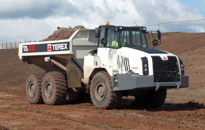 Terex Corp. is selling its truckbusiness to Volvo Construction Equipment.