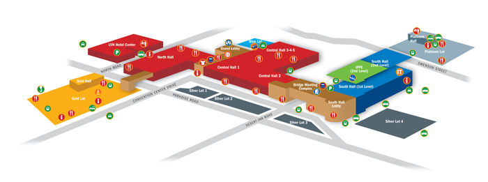 Overview Map - CONEXPO
