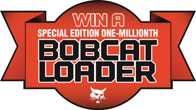 Bobcat Kicks Off Millionth Loader Celebration wit Commemorative Machine Giveaway