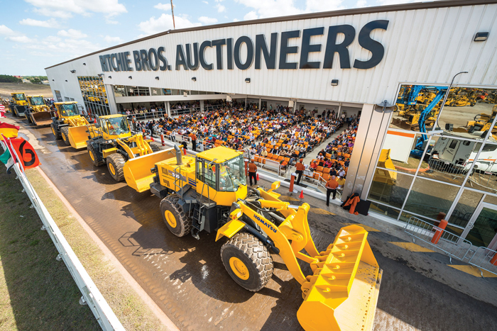 Vancouver-based Ritchie Bros. Auctioneers Inc.