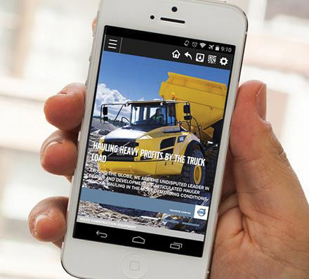 Volvo Construction Equipment Launches Mobile App in North America