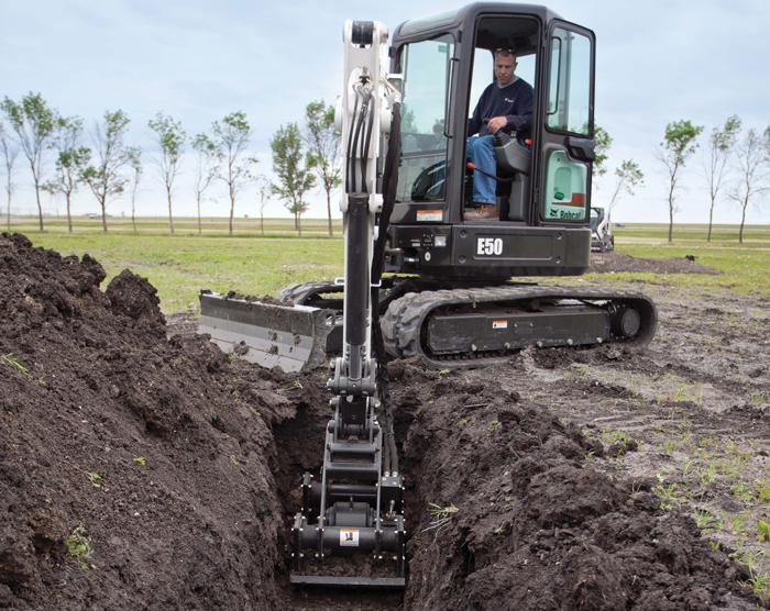 "Compact or ""mini"" excavators are quickly becoming MVPs on jobsites."