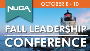 Speakers Announced for NUCA's Fall Leadership Conference
