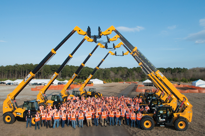 JCB Hosts Largest-Ever Dealer Training Event for  Construction Equipment