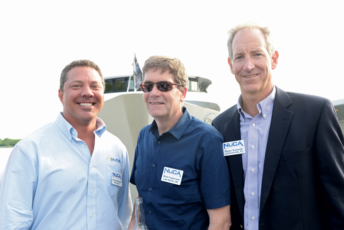 Wendorf enjoys participating in NUCA events, such as thisdinner cruise during last year's Washington Summit.