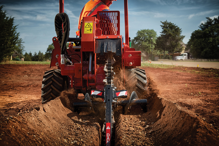 Ride-On Trenchers Offer Efficiency and Precision When Placing Utilities