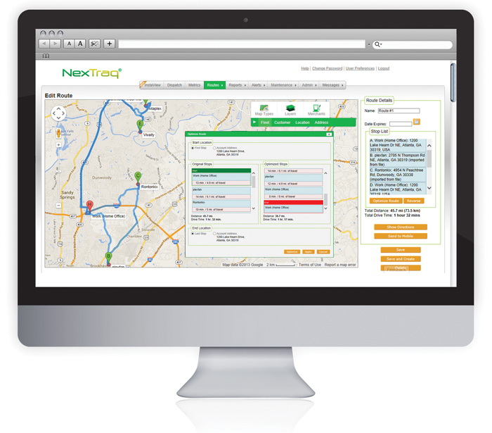 Contractors Look to Improve Operations with GPS Fleet Tracking Software