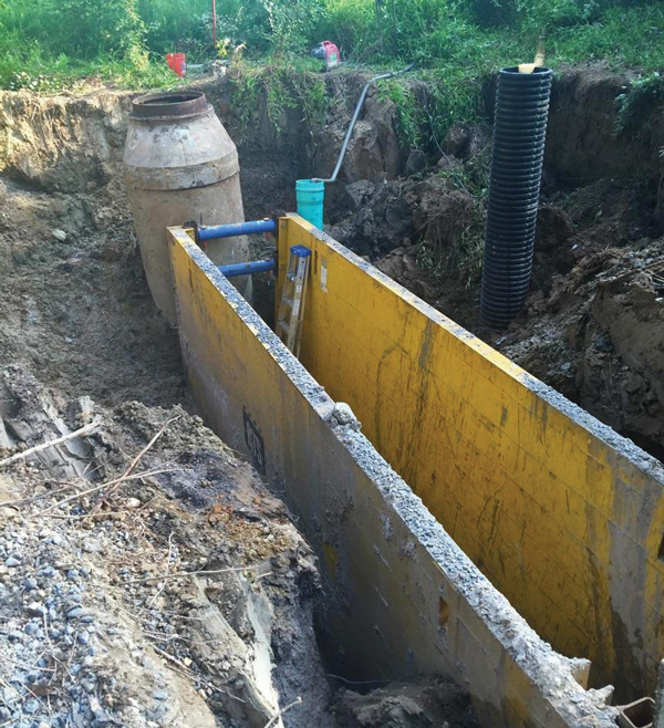 National Trench Safety Offers a Lighter Solution to Trench Shoring