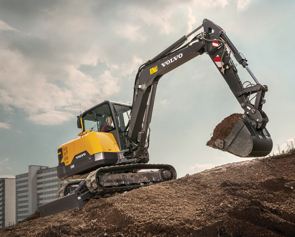 Volvo's EC60E Offers Versatility and Comfort in a Compact Footprint