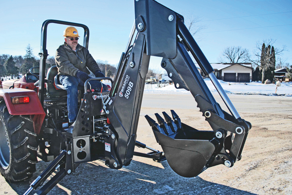 Buying and Maintaining a Skid Steer/Track Loader Backhoe Attachment