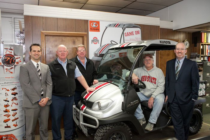Kubota Awards Customized UTV in Giveaway
