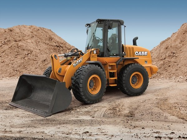 Case Unveils Tier 4 Final 521F Wheel Loader