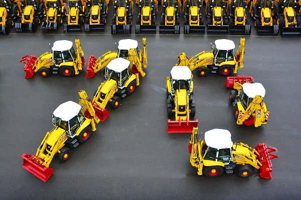 JCB to Launch Colorful Limited-Edition Machines for Ongoing 70th Anniversary Celebration