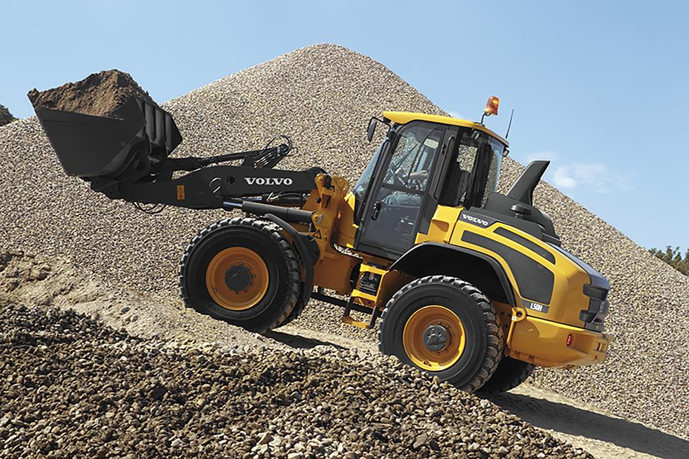 Check out Volvo's L45H and L50H Compact Wheel Loaders