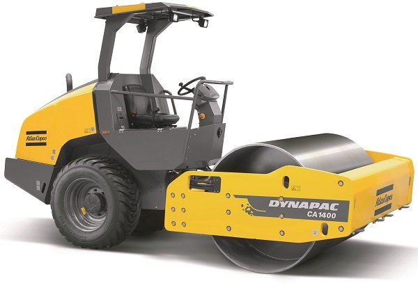 Atlas Copco Releases New Soil Roller at The Rental Show