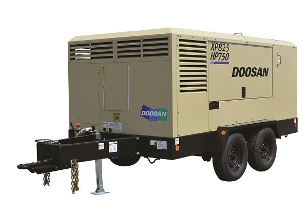 Doosan Portable Power Introduces XP825/HP750 Air Compressor
