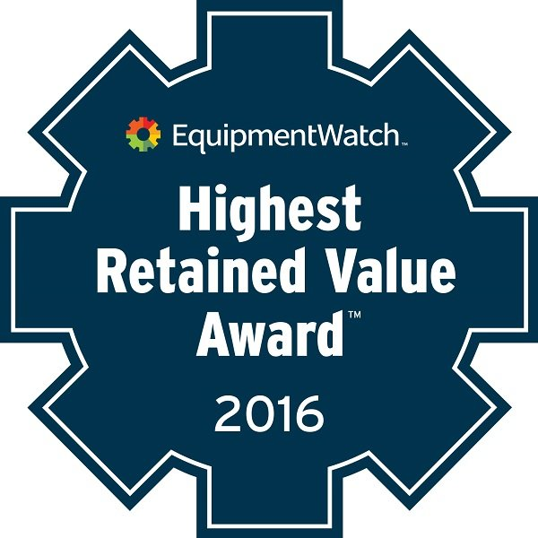 EquipmentWatch Announces First Highest Retained Value Award Winners