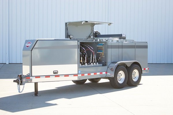 Thunder Creek Redesigns Service and Lube Trailer