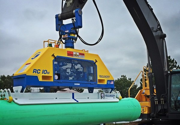 Vacuworx Introduces New Hydraulic-Powered Vacuum Lifting Systems