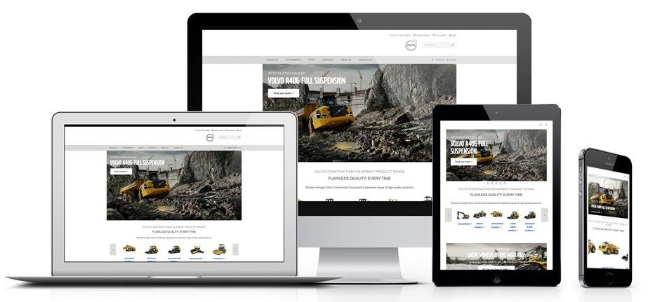 Volvo Construction Equipment launches fully redesigned website