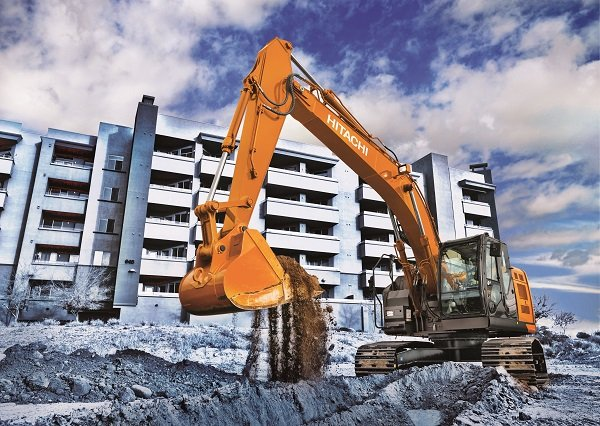 Hitachi's New Ultrashort Excavators Offer Big Efficiency in Tight Spaces