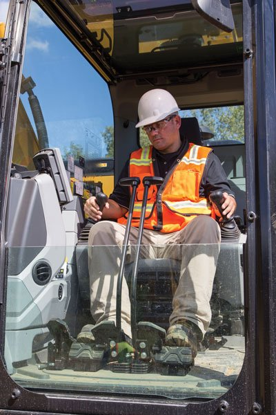 "According to Caterpillar's Scott Hagemann, ""the finished product is only as good as the operator's skill. With the advancement of the automated Grade with Assist system, the machine helps the operator get a quality finished product."""