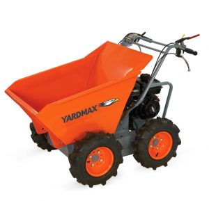 Yardmax Rolls Out New Power Wheelbarrow and Trackbarrow