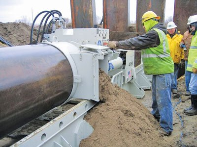 Auger Boring Project
