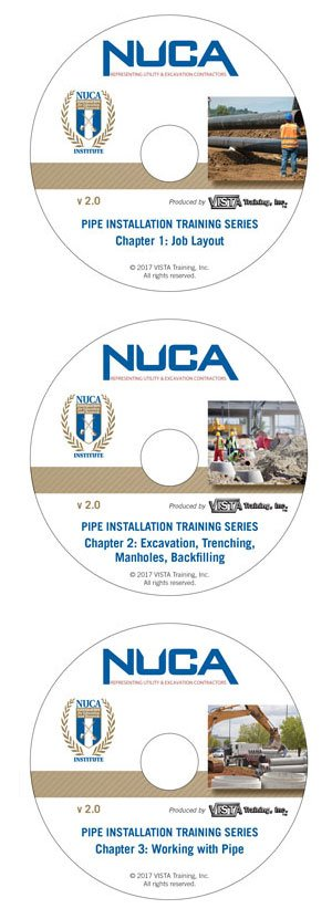 NUCA Pipe Installation Training Programs Now Compatible with Windows 7, 8 and 10