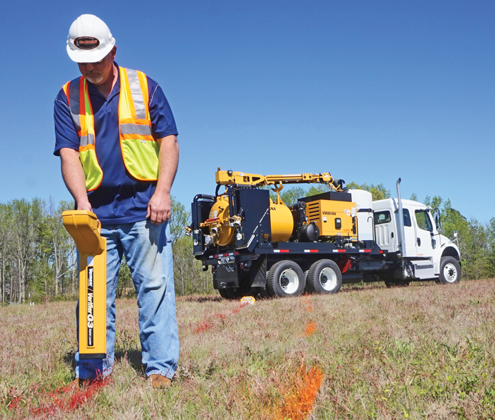 Utility Line Locator : Utility locating tools help eliminate the risk of striking