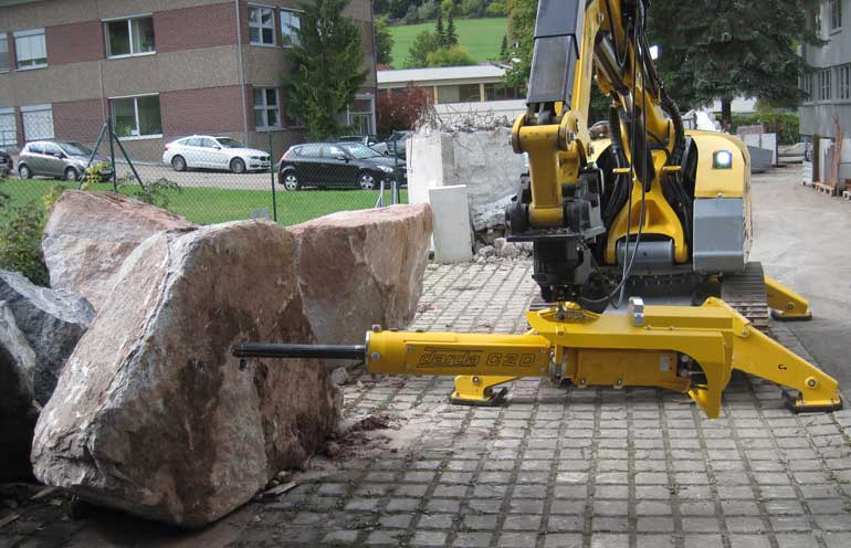 Brokk C20 Rock Splitter