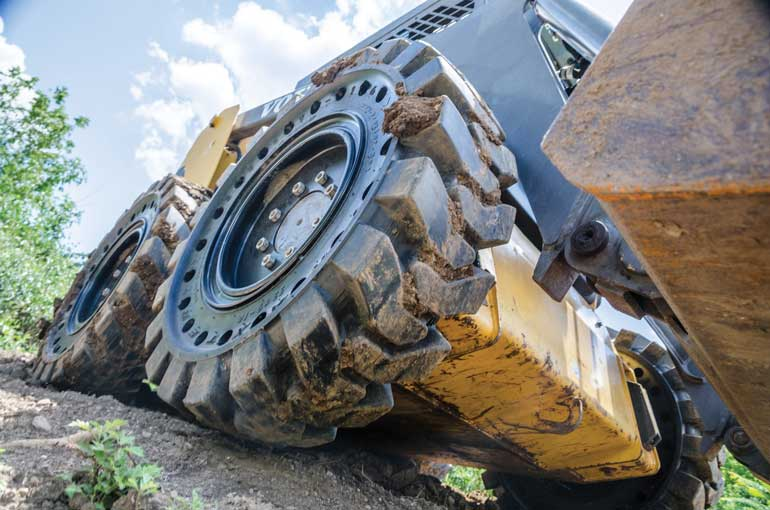 Is Your Skid Steer Loader Wearing the Right Tires?