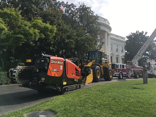 Ditch Witch Organization Represents Oklahoma in Made in America Product Showcase at White House