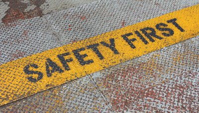 safety first floor sign