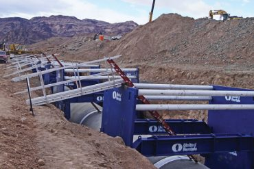 United Rentals trench boxes