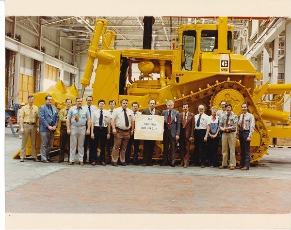 Cat's One Big, Bad Dozer Turns 40