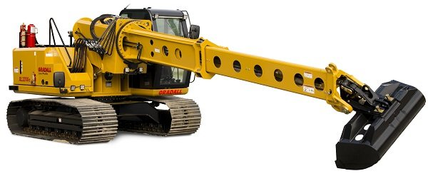 Gradall Introduces the XL 3200V Lo Pro Crawler Excavator