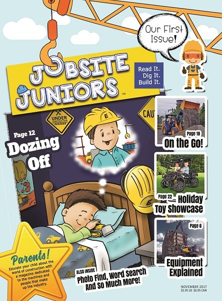 Utility Contractor's Publishing House Launches Kids Construction Magazine