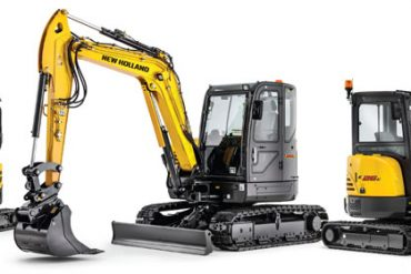 new holland c series excavators