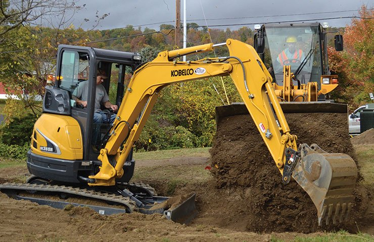 Kobelco USA excavators