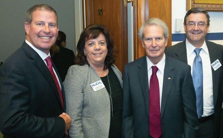 Brian Wilkerson, Linda Goslee and Keith Vandegrift caught up with Rep. Walter Jones (R-NC)