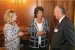 Rebecca Ridson and Kurt Youngs from NUCA of Indiana meet with Rep. Jackie Walorski (R-IN)