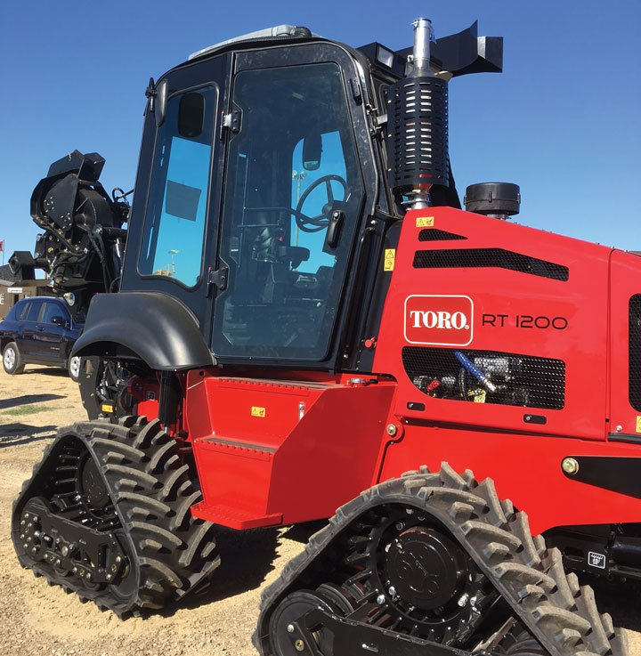 Toro RT1200 Riding Trencher Cab Assembly