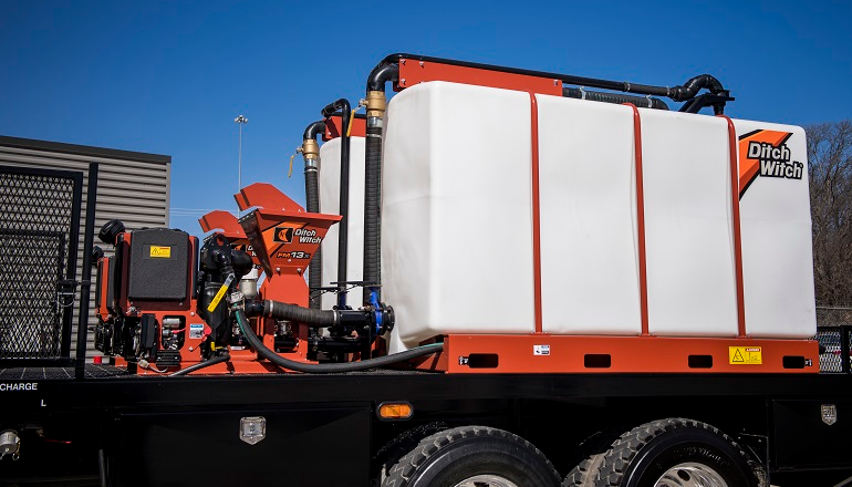 Ditch Witch Fluid Management Systems Increase HDD Productivity