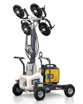 Atlas Copco HiLight V2+ and V3+ LED Light Towers