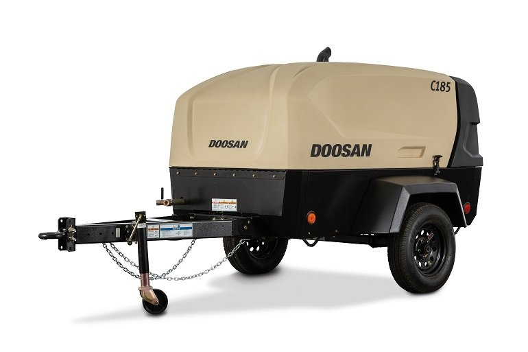 Doosan Portable Power Offers Industry-Leading Runtime with Redesigned C185 Air Compressor